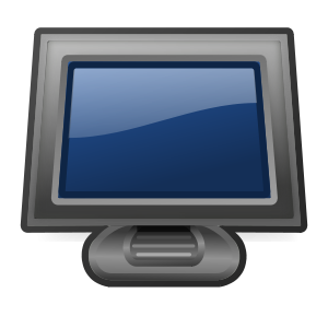 Touch Screen Clipart