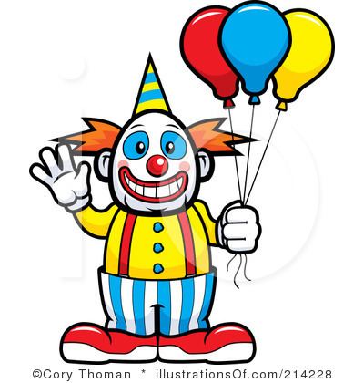 Vintage Circus Clown Clipart Clown Clip Art Royalty Free Clown Clipart