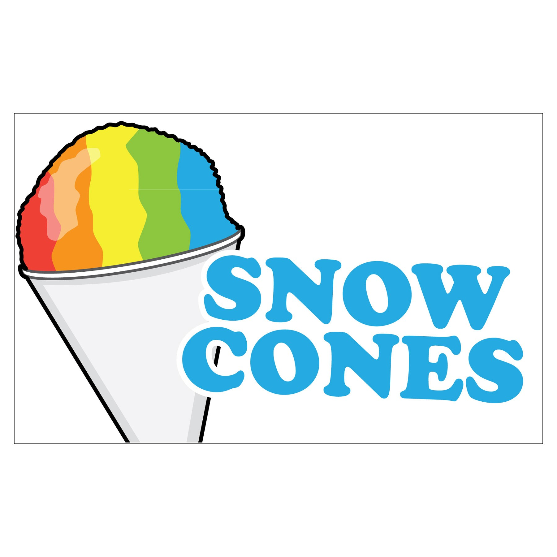 Snow Cone Clipart - Clipart Kid