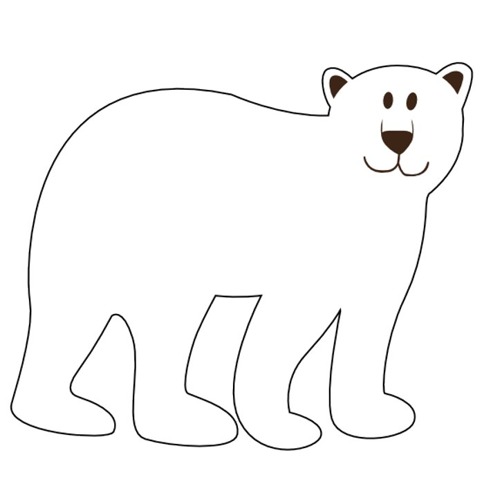 Bear Clipart Black And White   Clipart Panda   Free Clipart Images
