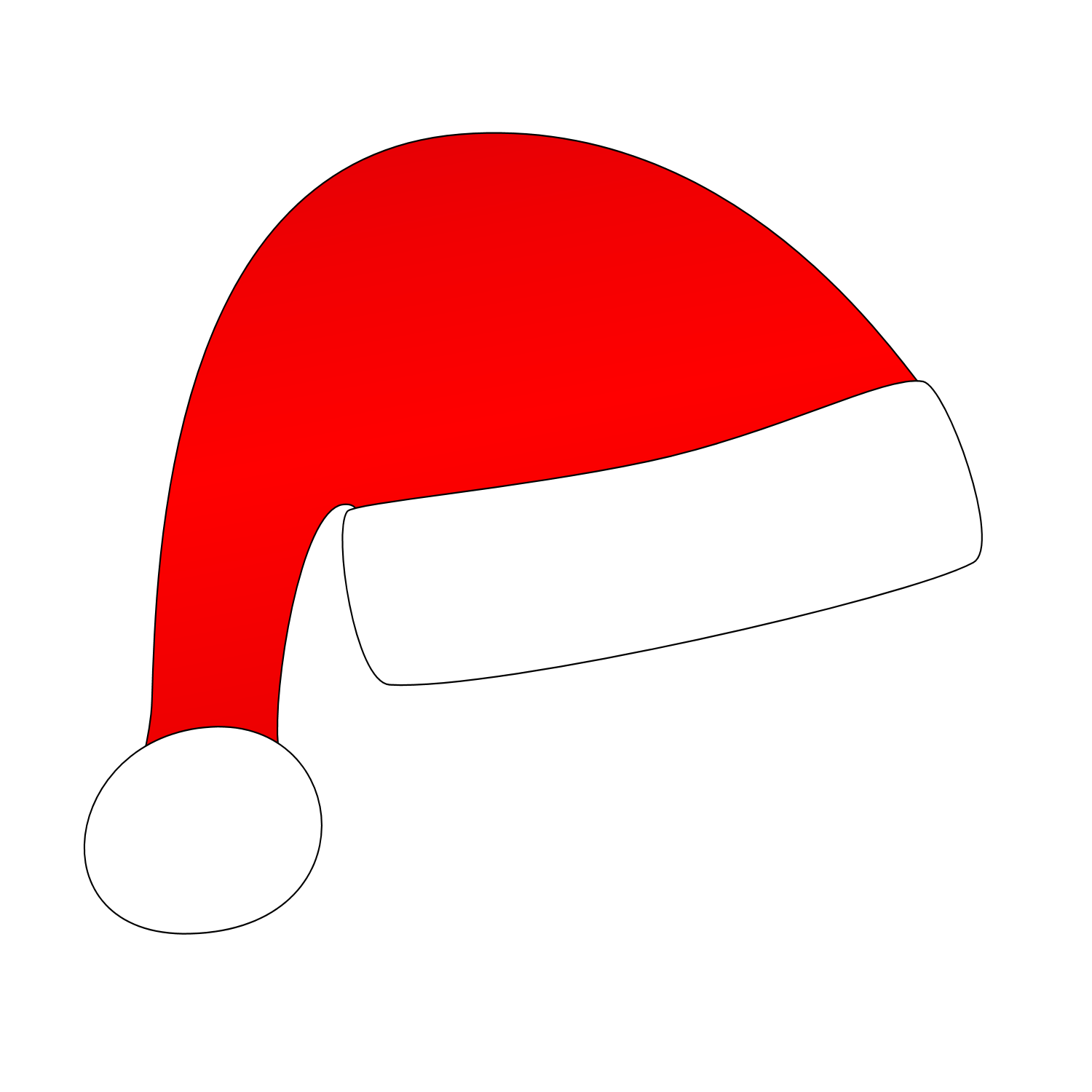 father christmas hat clipart - photo #21