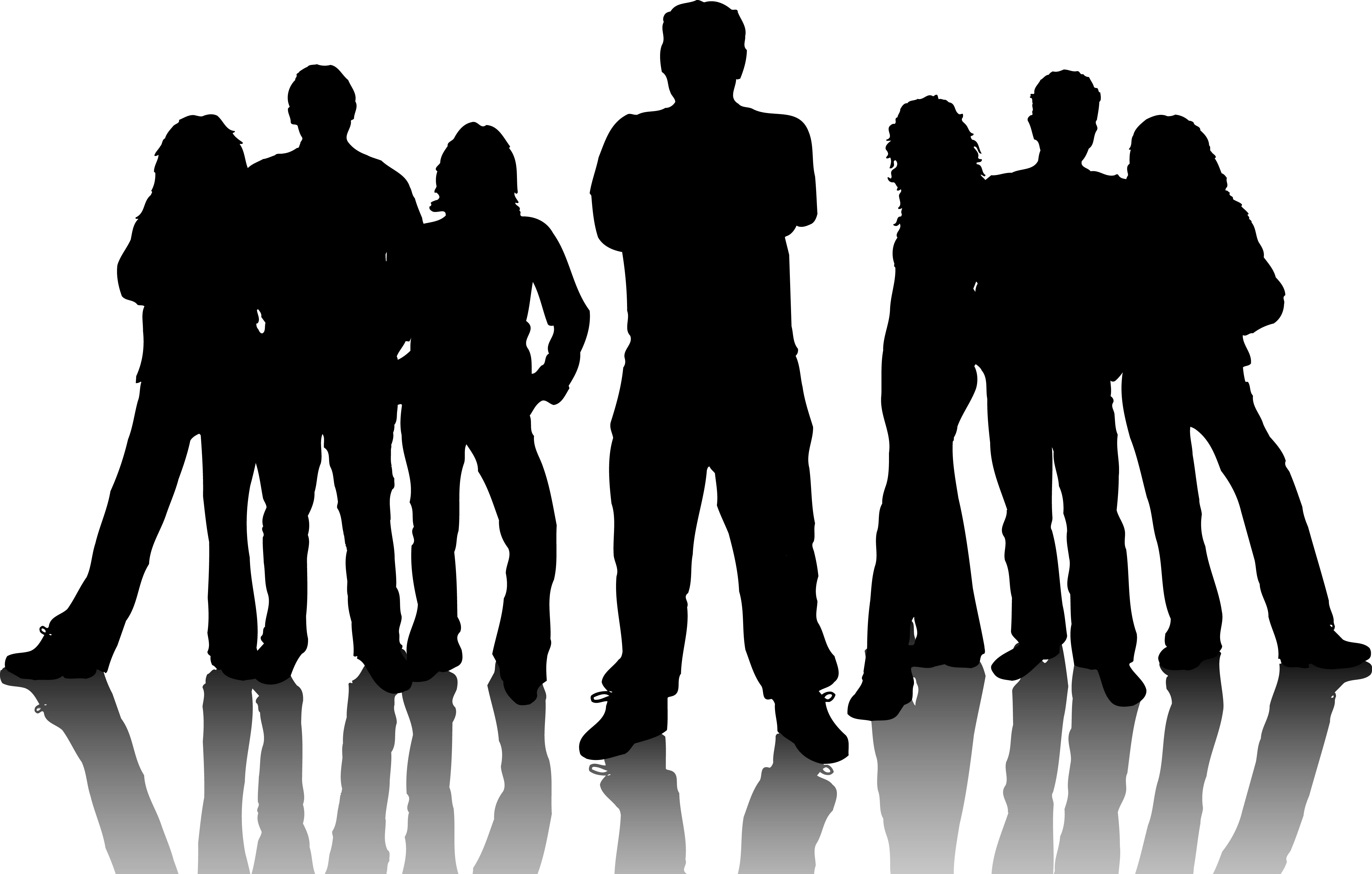 Large Group Of People Clipart - Clipart Kid
