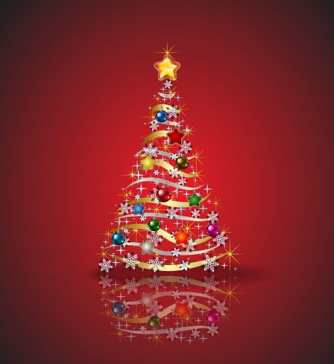 Christmas Tree Vector Graphic   Free Vector Graphics   All Free Web