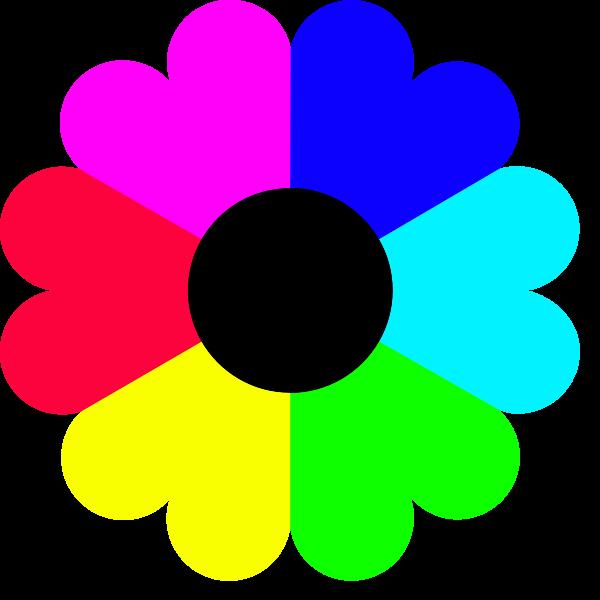 Clip Art Color Clipart clip art about colors clipart kid color flower 7 png