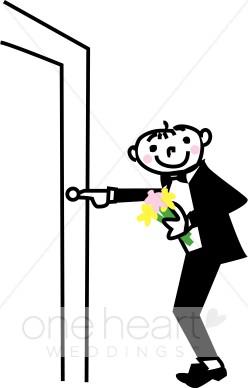 Press Doorbell Clip Art