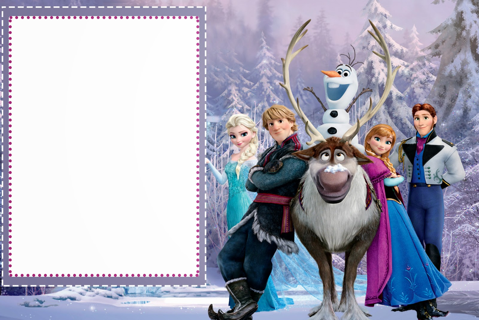 happy 7th birthday frozen clipart  clipart suggest