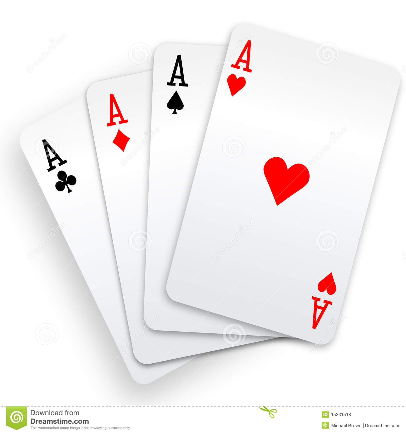 4 aces in poker