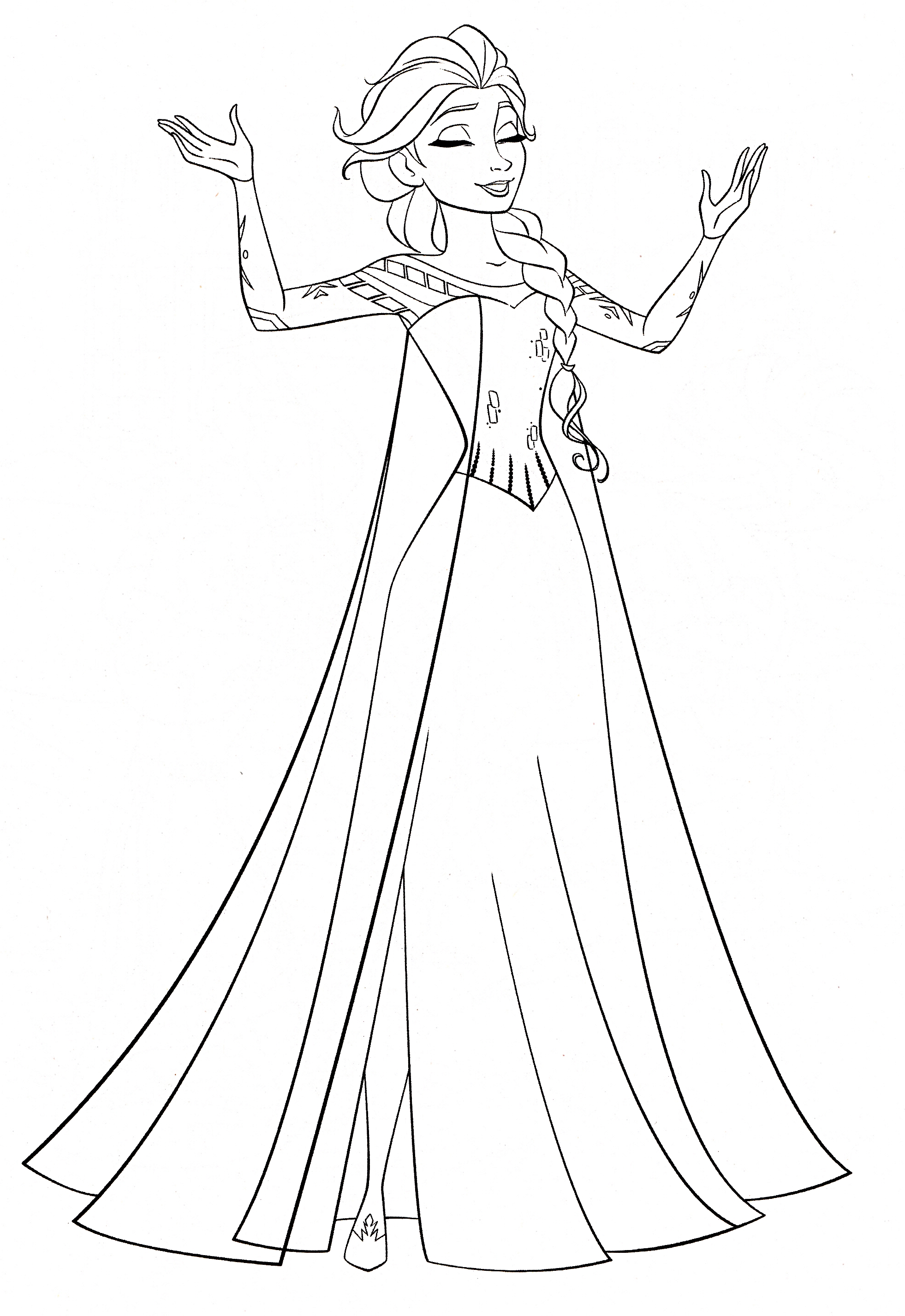 Frozen Coloring Pages Frozen Coloring Pages Elsa   Kids Coloring