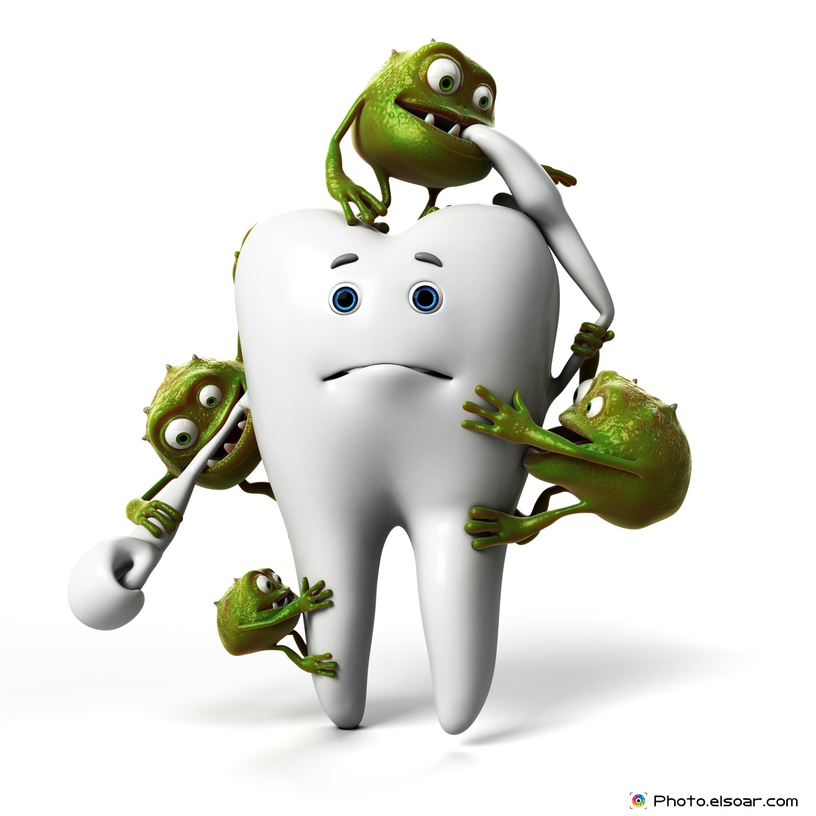 Funny Tooth And Bacteria As Now For Free Get It Now