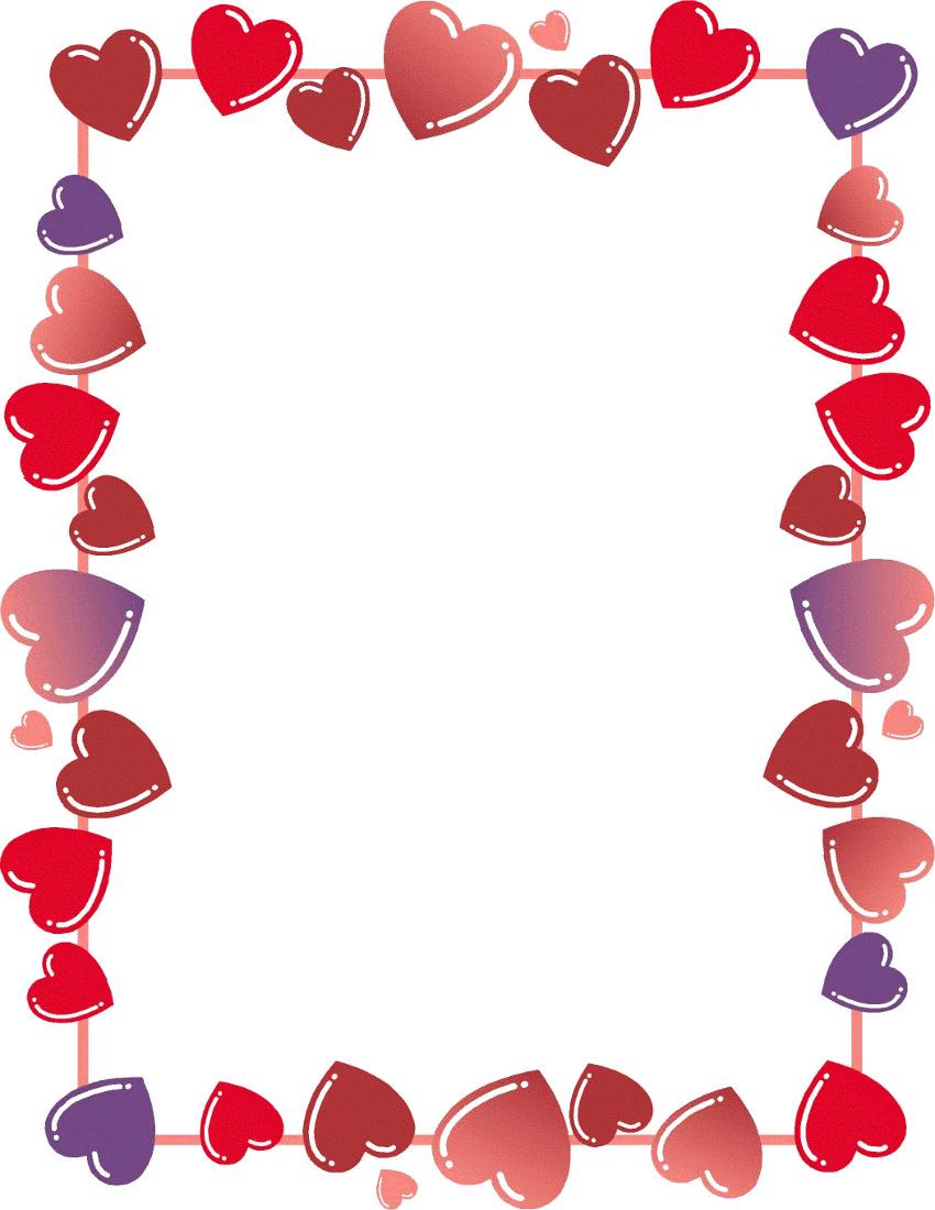 Clip Art Valentines Day Borders Clip Art valentine border clipart kid heart http www wpclipart com holiday valentines valentine