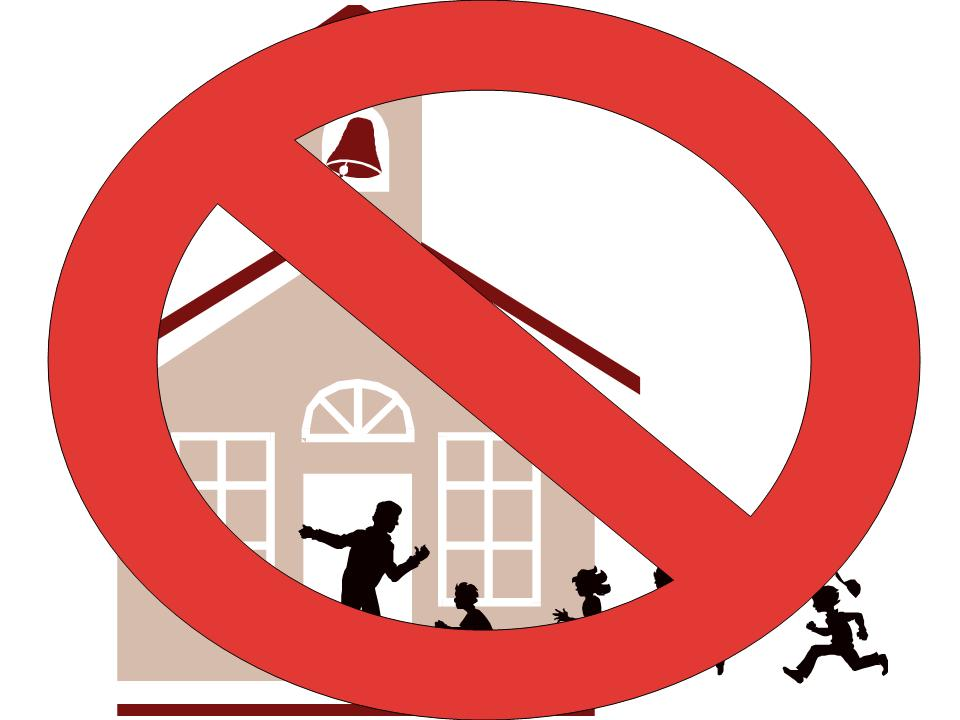 No School Clipart - Clipart Kid