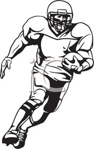 Running Football Player Clipart   Clipart Panda   Free Clipart Images