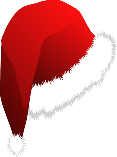 santa hat clipart with transparent background - photo #18