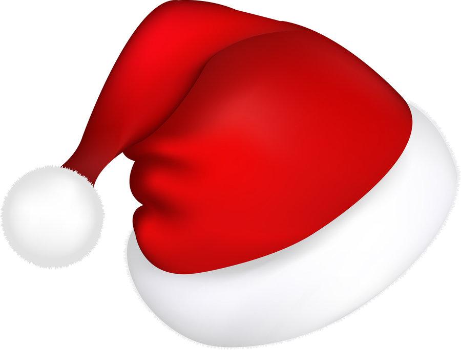 Santa Hat Clipart - Clipart Kid