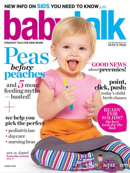 Bloom Baby Shoes Grace The March Cover Of Babytalk Magazine