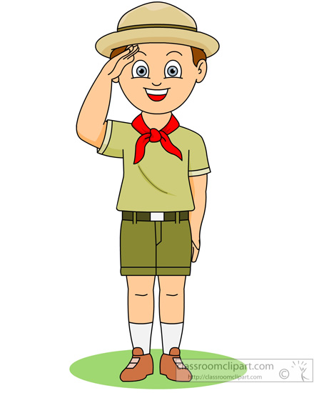 Eagle Scout Clip Art Borders Boy Scout Saluting Clipart