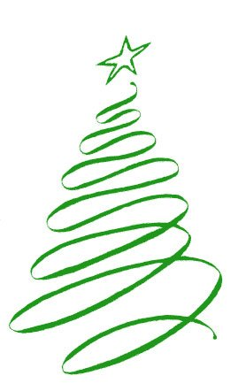 Fancy Christmas Tree Clipart - Clipart Kid
