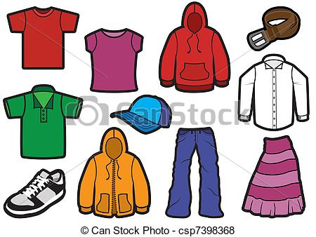 Fall Clothes Clipart - Clipart Suggest