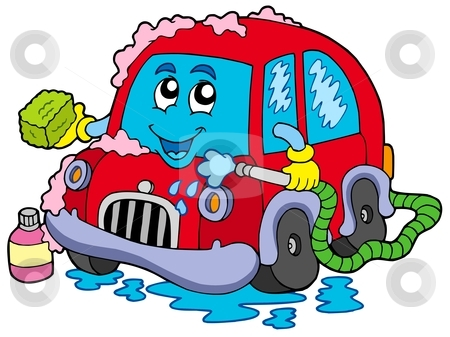Cartoon Car Wash Clipart - Clipart Kid