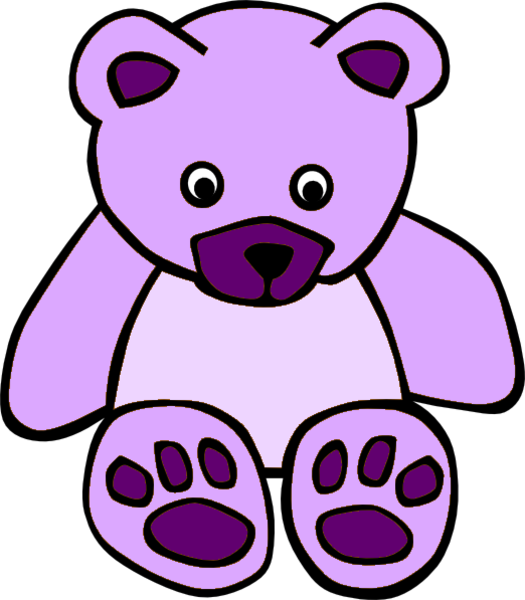 Free Vector Simple Teddy Bear Clip Art Simple Teddy Bear Clip Art