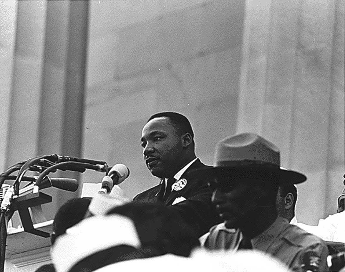King And Edward B Footmon Civil Rights March On Washington 2 Jpg