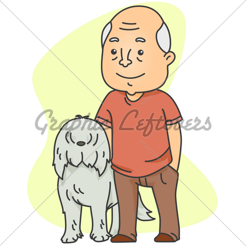 Old Dogs Clipart