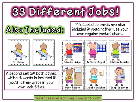 Preschool Help Jobs Clipart - Clipart Kid
