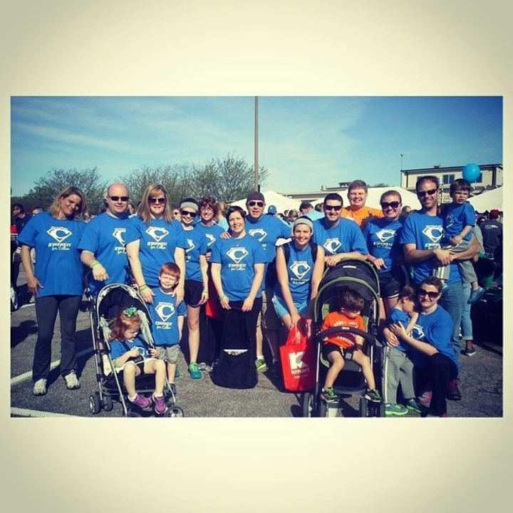 Teams First March For Babies Walk In St  Louis In Honor Of My