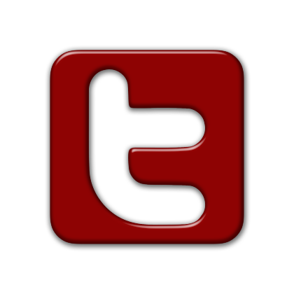 Twitter Icon Image Red Twitter Icon Twitter Logo