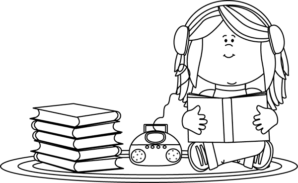 student listening black and white clipart clipart suggest listening centre clipart Listening Ears Clip Art