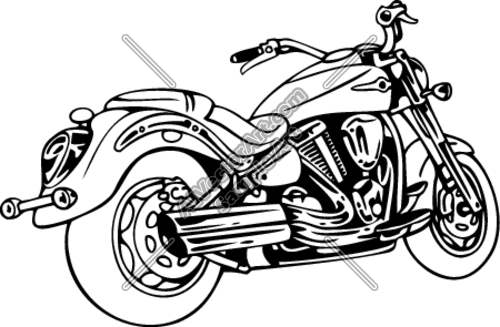 Motor Clipart And Vectorart  Vehicles   Motorcycles Vectorart And