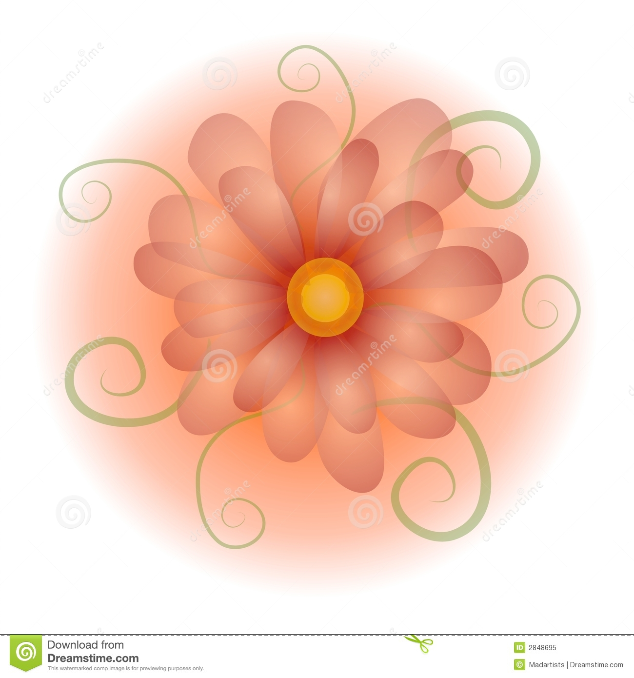 illustration soft floral - photo #45
