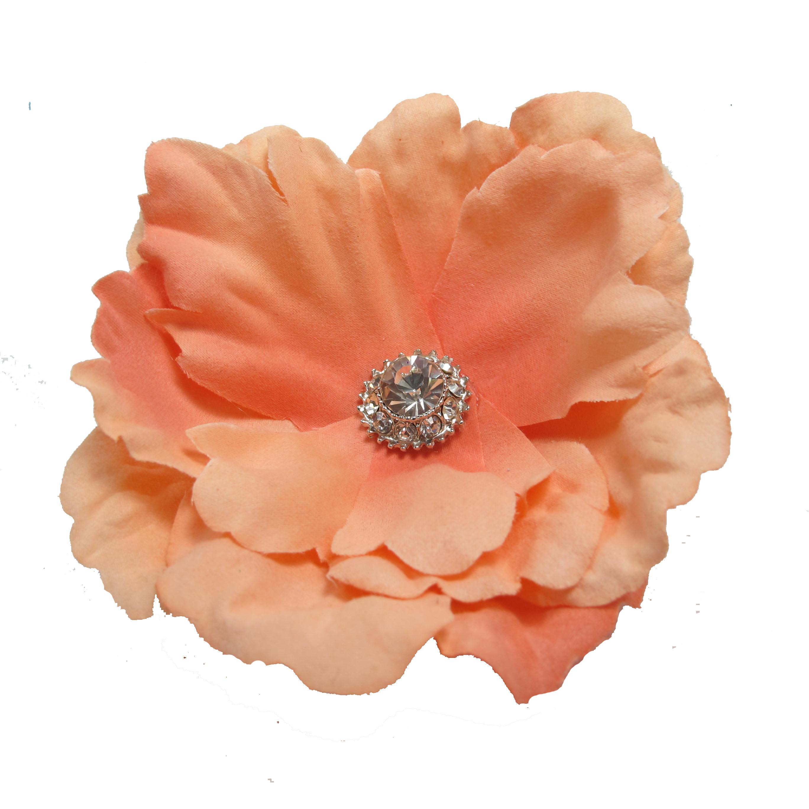 Peach Flower Clip Art – Cliparts