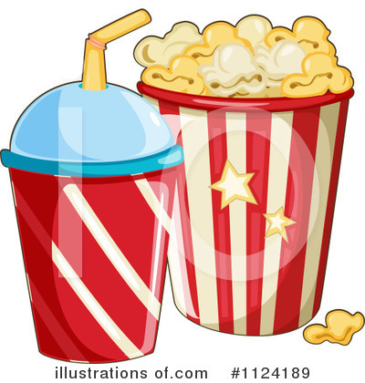 Popcorn Clipart  1124189 By Colematt   Royalty Free  Rf  Stock