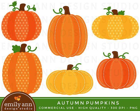 Polka Dot Pumpkin Clipart - Clipart Kid
