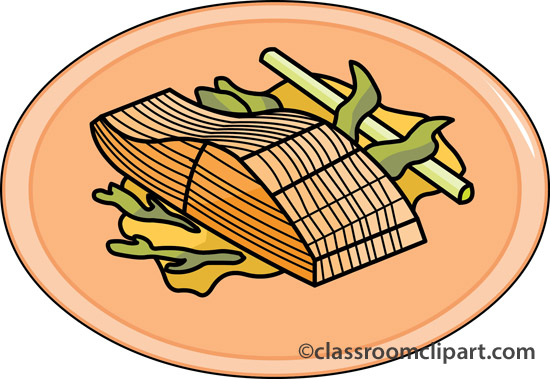 Seafood Clipart   Salmon Seafood 20   Classroom Clipart
