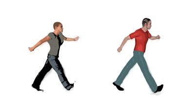 Animated People Walking Clipart - Clipart Kid