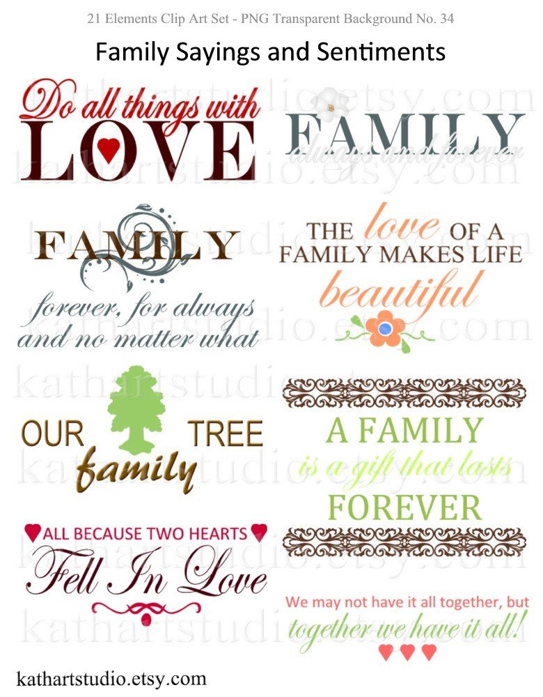 Buy 2 Get 1 Free Instant Download Family By Kathartstudio