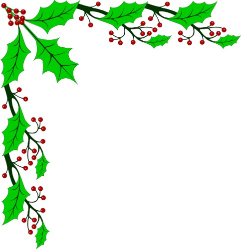 Christmas Border Corner Clipart   Clipart Panda   Free Clipart Images