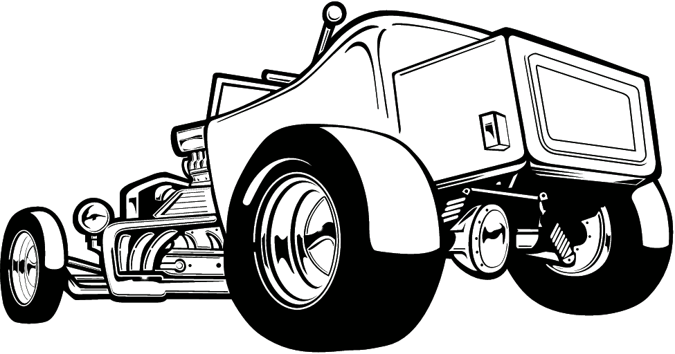 Fonts Icons   Clipart By Category Auto   Moto   Hot Rod  001   100
