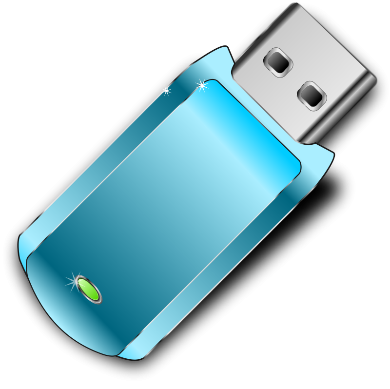 Free To Use   Public Domain Flash Drive Clip Art