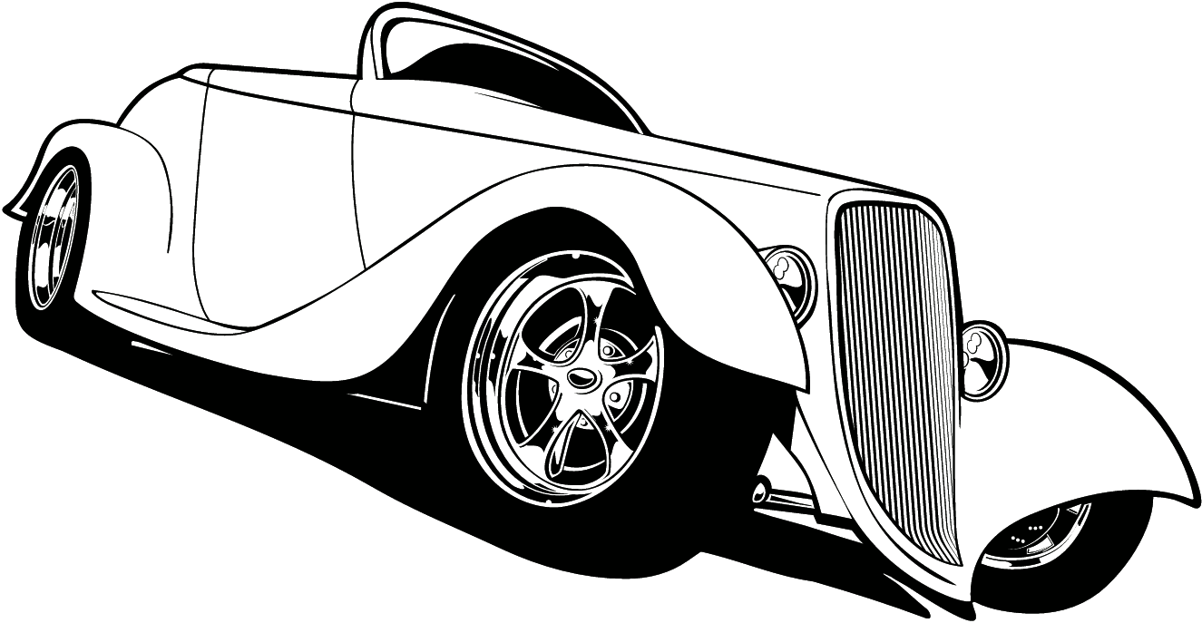 Hot Rod Clipart - Clipart Kid