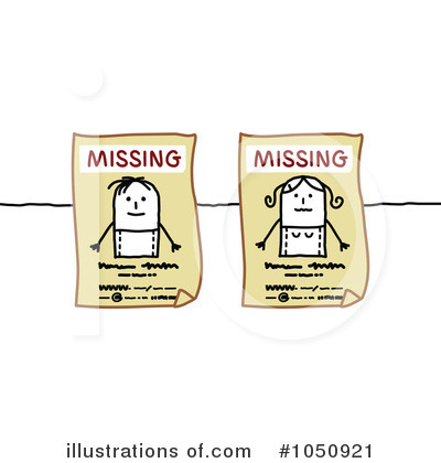 Missing Clipart  1050921   Illustration By Nl Shop