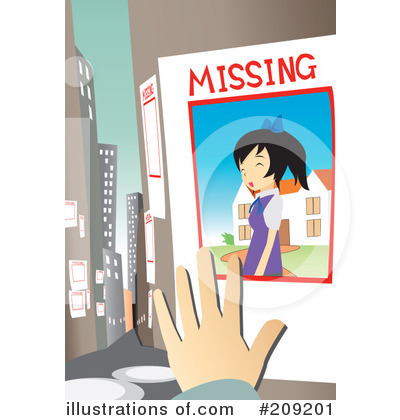 Missing Clipart  209201   Illustration By Mayawizard101