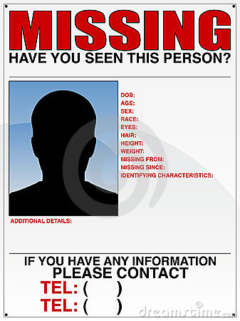 Missing Poster Quotes Missing Poster Template Quotes Missing Poster