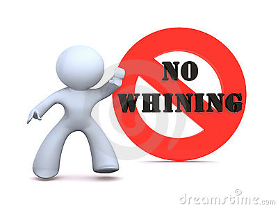 No Whining Clipart No Whining