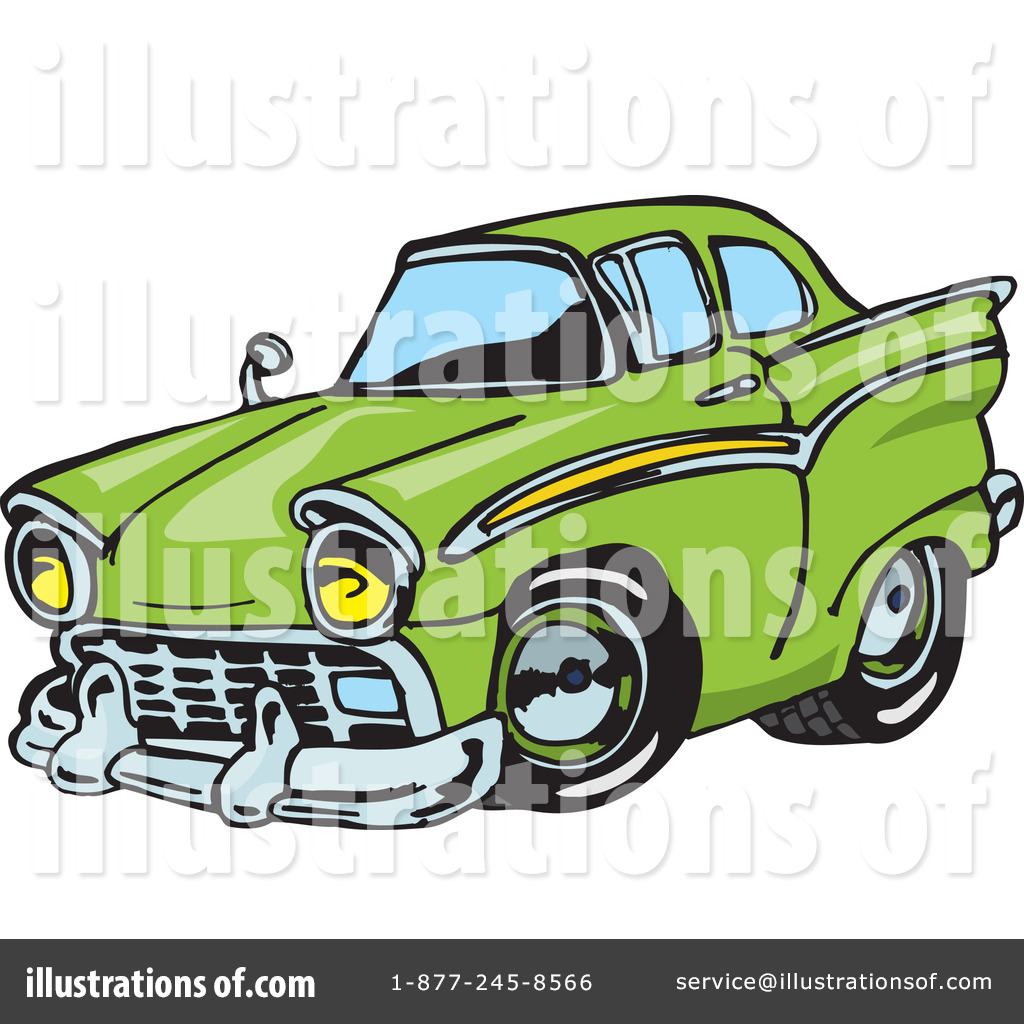 Royalty Free  Rf  Hot Rod Clipart Illustration  65652 By Dennis Holmes