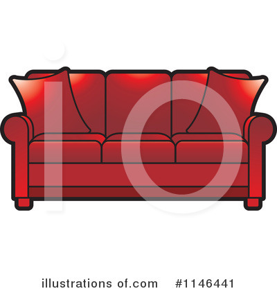 Royalty Free  Rf  Sofa Clipart Illustration By Lal Perera   Stock