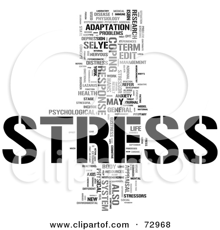 Understanding Stress Word Clip Art