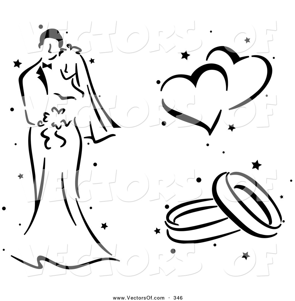 Wedding Clipart Black And White   Clipart Panda   Free Clipart Images